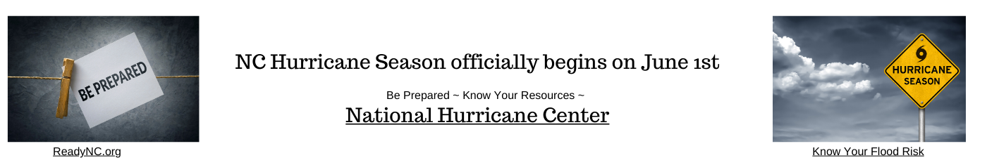 Hurricane Season officially begins on June 1